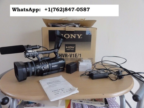 sony hvr-v1e camcorder mini dv tape hdv hd