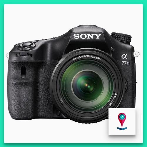 sony ilca-77m2m cámara digital estilo dslr 24.3mp + 18-135