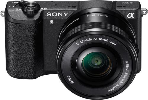 sony - ilce-5100 - cámara con montura e y sensor aps-c