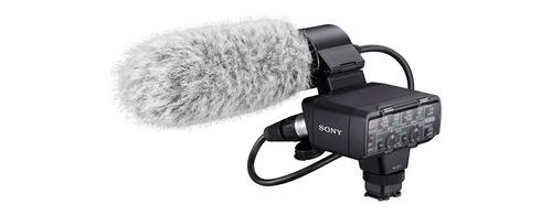 sony kit adaptador y micrófono xlr-k2m