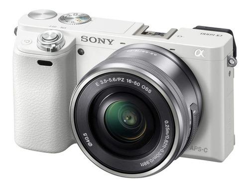 sony kit de lentes con zoom motorizado ee 6000 sin espejo ee