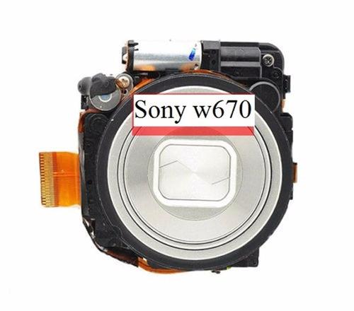 sony lente cámara sony dsc-w670 lcd repuestos