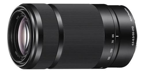 sony lente e 55-210mm f4,5-6,3 montura e sel 55210