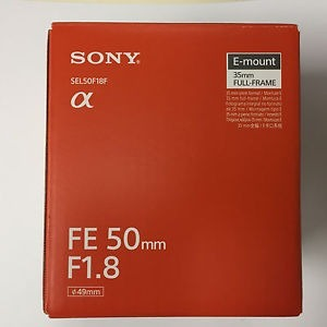 aac0eaf123 Sony Lente Prime Montura Fe 50mm F/1.8 - Negro Full Frame ...