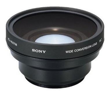 sony lente vcl-hg0758, grande angular 58mm