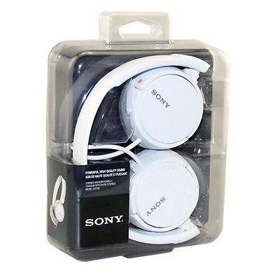 sony mdr-zx110 audifonos hi-fi plegable blanco celular ipod