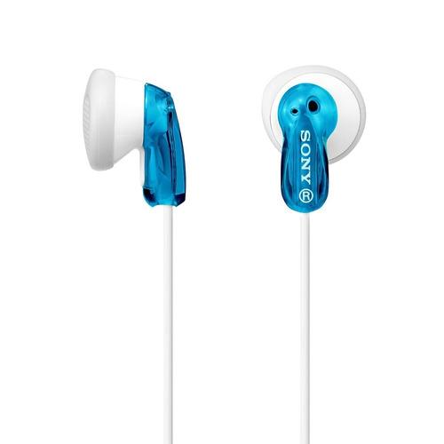 sony mdre9lp auriculares  en azul