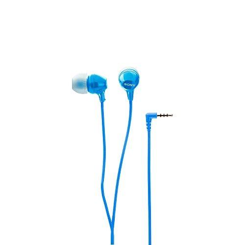sony mdrex15ap moda color ex auriculares ergonómicos con mic