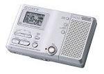 sony mz-b10 portátil business minidisc recorder & player wal