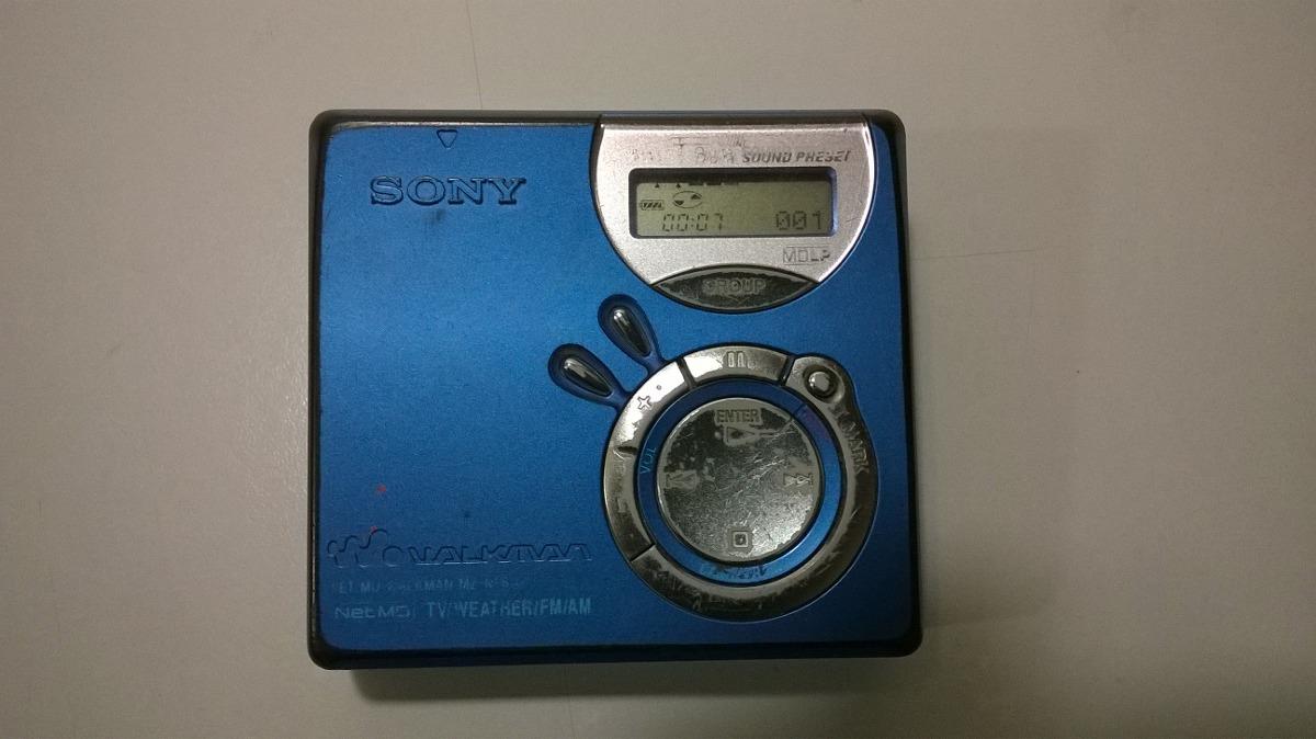 Sony Net MD MZ-NF610 Personal MiniDisc Player