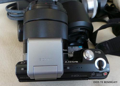sony nex-5n 16.1 megapixeles cámara fotográfica usada