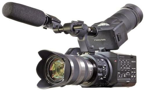 sony nex-fs100u - camcorder de sensor super 35mm