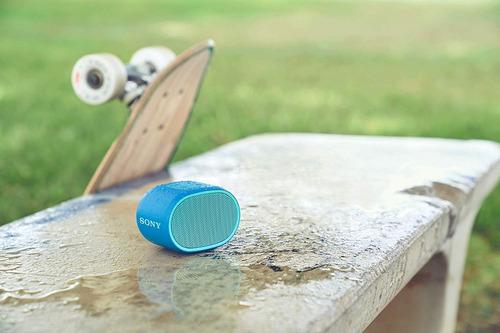 sony parlante bluetooth extra bass acuatico portatil - xb01