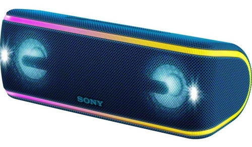 sony parlante portátil xtra bass bt xb31 azul - phone store