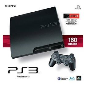 Sony Playstation 3 Ps3 Slim 160gb (standard Edition)