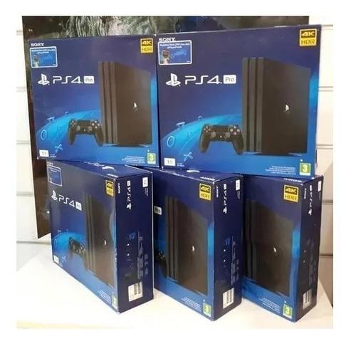 sony playstation 4 pro 1tb 2 controladores + 8 juegos gratis