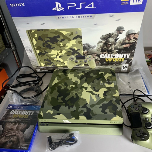 sony playstation 4 pro 1tb call of duty edition