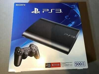 sony ps3 súper slim 500gb
