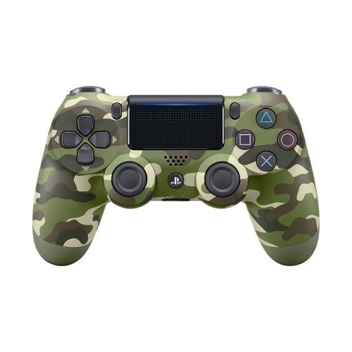 sony ps4 control original camuflado verde