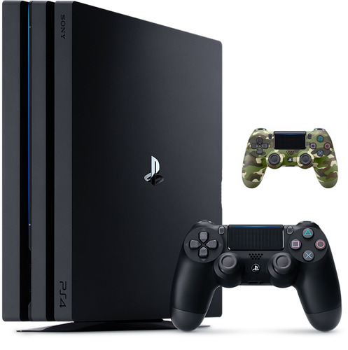 sony ps4 pro 1tb + 2 controles dualshock 4 v2