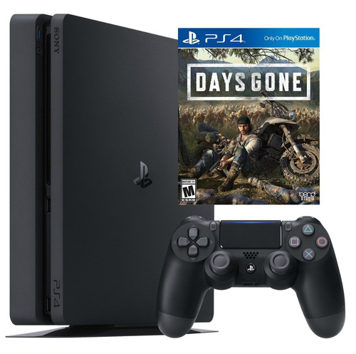 sony ps4 slim 1tb nueva + days gone juego ps4 - phone store
