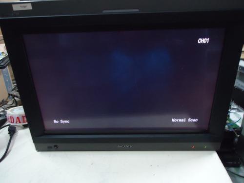 sony pvm-l2300 23  lcd monitor de transmissão