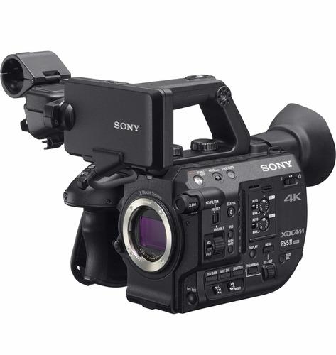 sony pxw fs5 mark 2 4k xdcam super 35mm sem juros!!