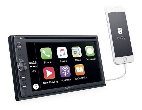 sony radio auto con car play/android auto xav ax200