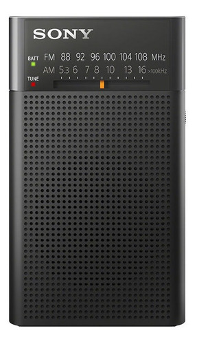 sony radio portátil con parlante icf-p26
