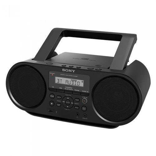 sony® radiograbadora zs-rs60bt radio fm/ cd/ bluetooth/ wifi