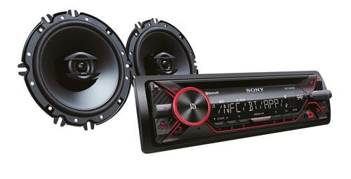 sony receptor bluetooth con parlantes de 16cm mxsn4216bt