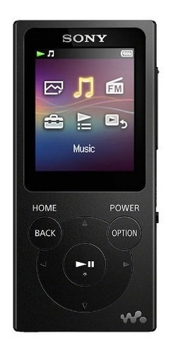 sony reproductor de música digital walkman nw-e393