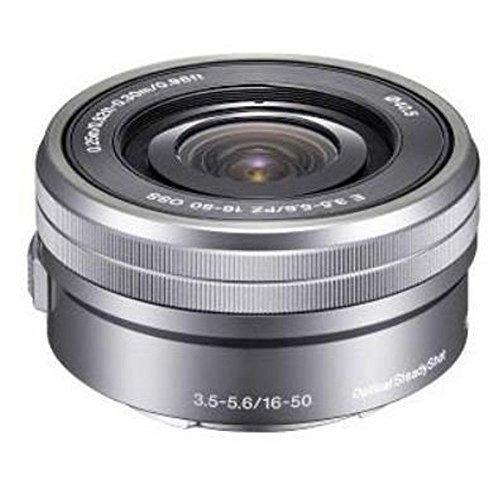 sony selp1650 16-50mm lente de zoom de potencia (plata, empa