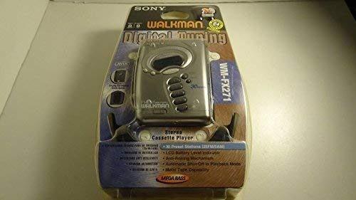 sony sintonización digital sony walkman cinta de casete fm/a