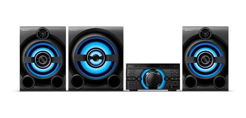 sony sistema de audio de alta potencia con dvd m80d