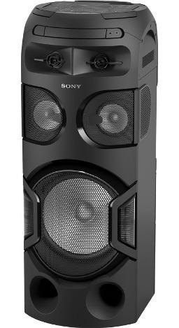 sony sistema de audio gran potencia con bluetooth mhc-v71d