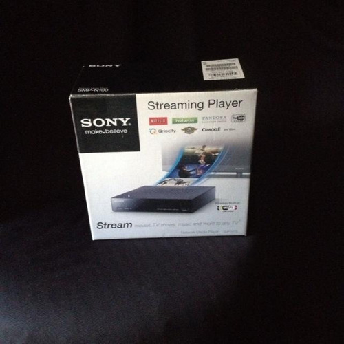 sony smp-n100 streaming player with wi-fi 50verdes