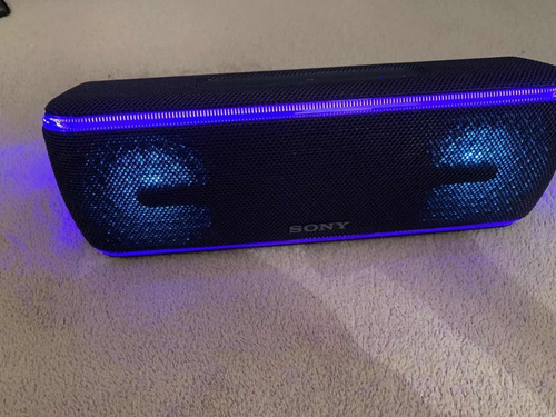 sony srs-xb41/l portable wireless bluetooth speaker ext bass