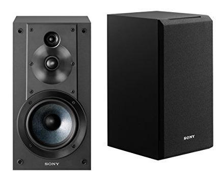 sony sscs5 3-way 3-driver bookshelf speaker system (negro)