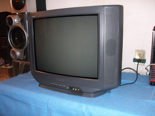 sony tv 21p convencional de cinescopio sonido stereo