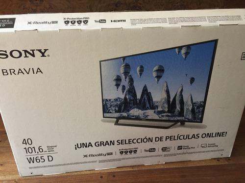sony tv led 40 smart tv w65d wifi netflix youtube  full hd