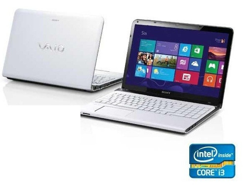 sony vaio sve 15125cbw intel core i3 4gb 500gb