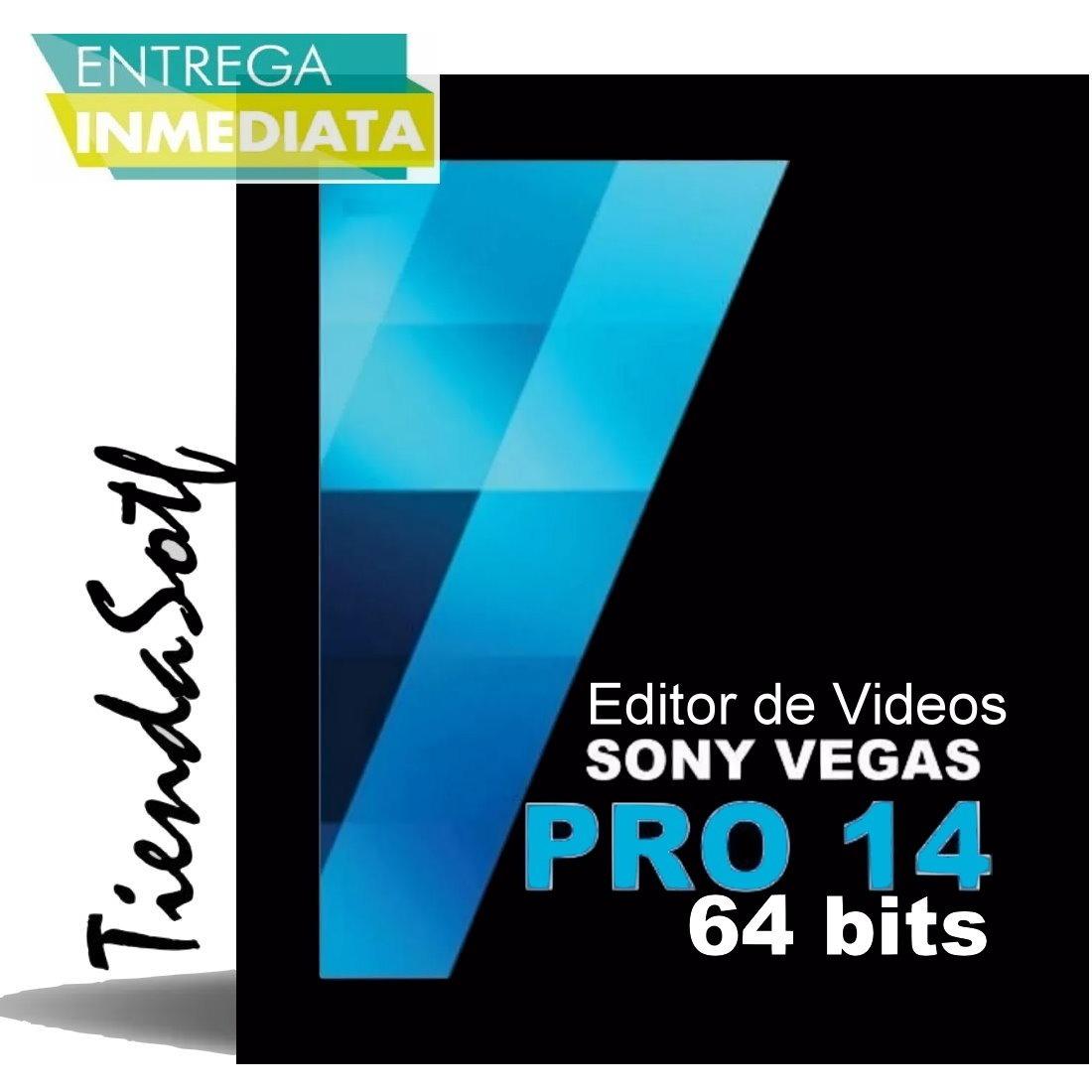 Sony Vegas Pro 14 - Potente Editor De Videos Exclusivo