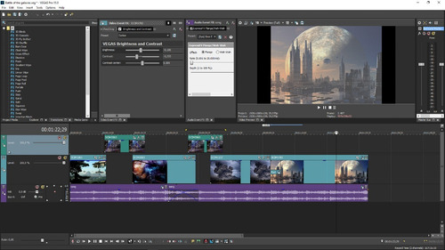 sony vegas pro 15 full editor de video - entrega inmediata