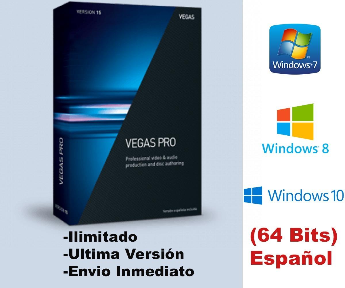 Sony vegas pro 15 64 bit windows 10   VEGAS Pro 15 Free
