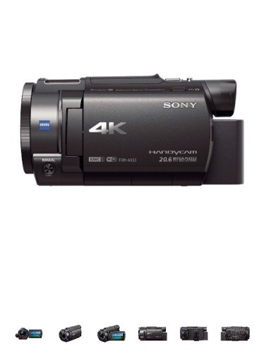 sony video cámara
