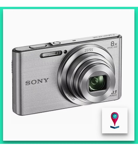sony w830 camara digital 20.1 mp zoom 8x video hd iso 3200