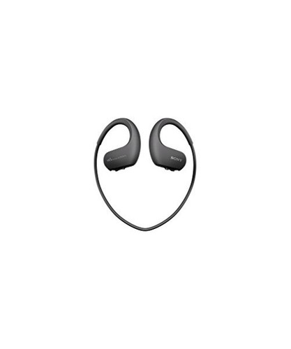 sony walkman 4gb integrado con auriculares nw-ws413 (negr