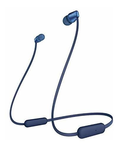 sony wi-c310 auriculares intrauditivos inalã¡mbricos, azul