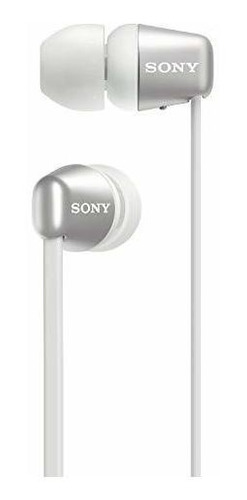 sony wi-c310 auriculares intrauditivos inalã¡mbricos, blanco